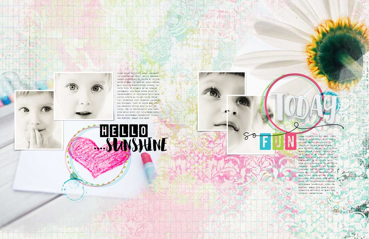 Inspiration Layout – All messed up