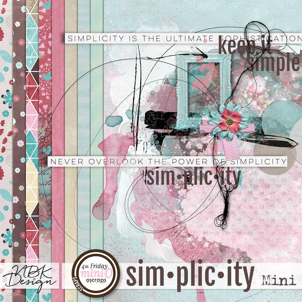 "New kit : ""Simplicity"""