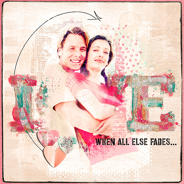 Love Forever inspiration by Marianne aka Margje