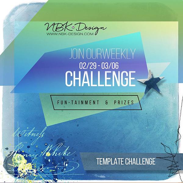 New Challenge is online at Oscraps