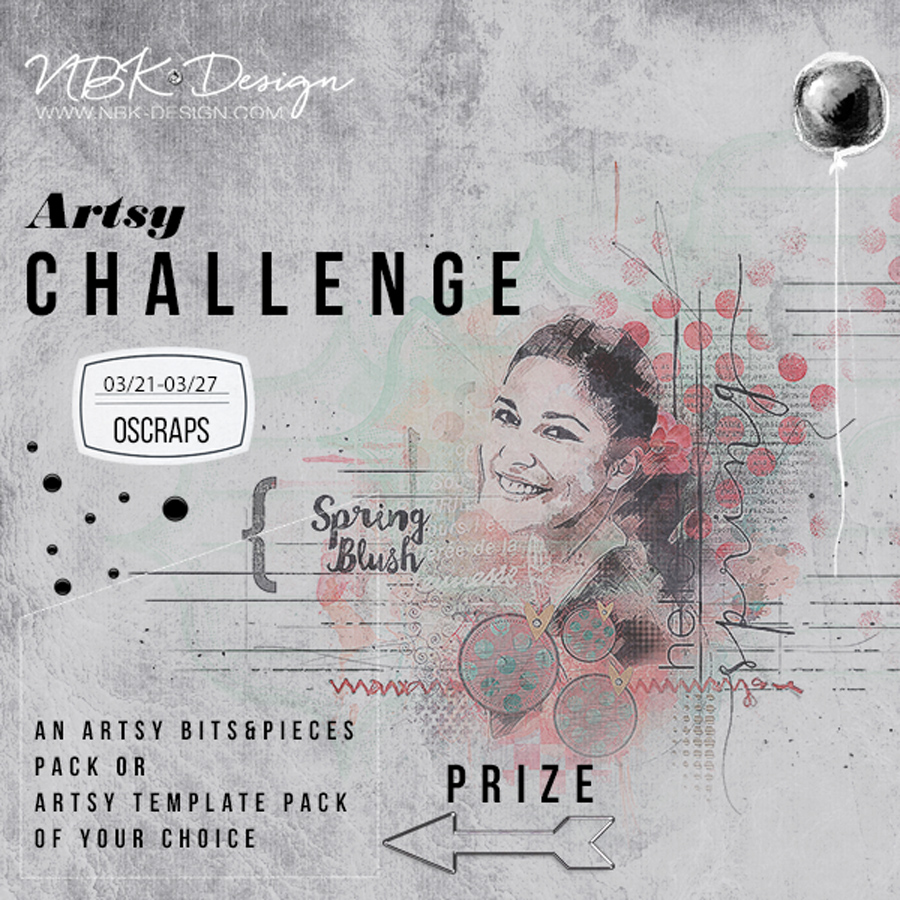 New challenge at Oscraps
