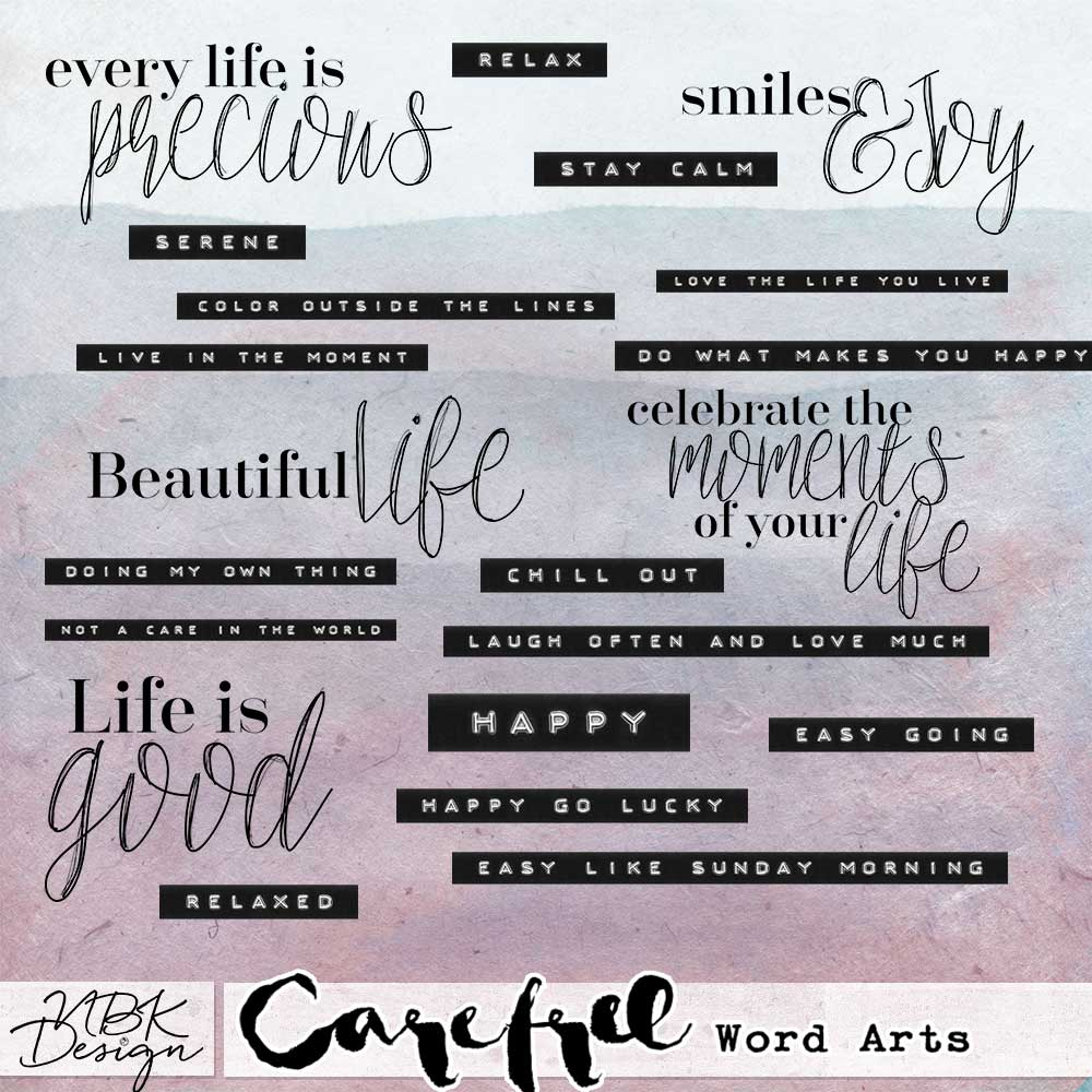 CAREFREE {COLLECTION}