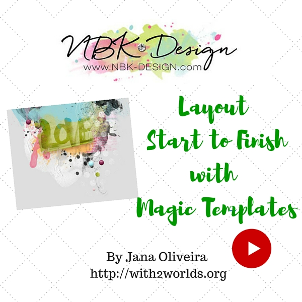 Video Tutorial Start to Finish Layout with Magic Templates