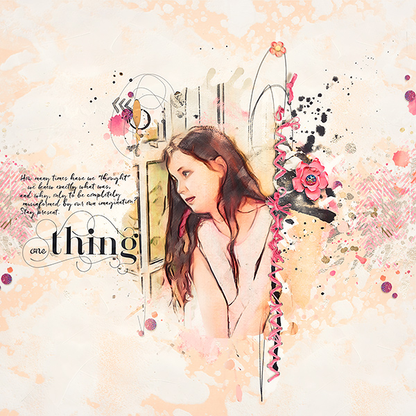 One Thing {Mini} inspiration – One thing by Marianne