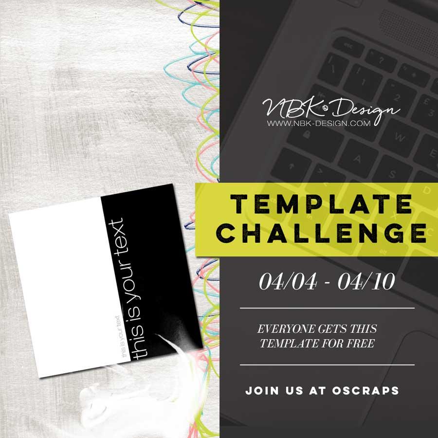 New NBK Design Challenge at oscraps