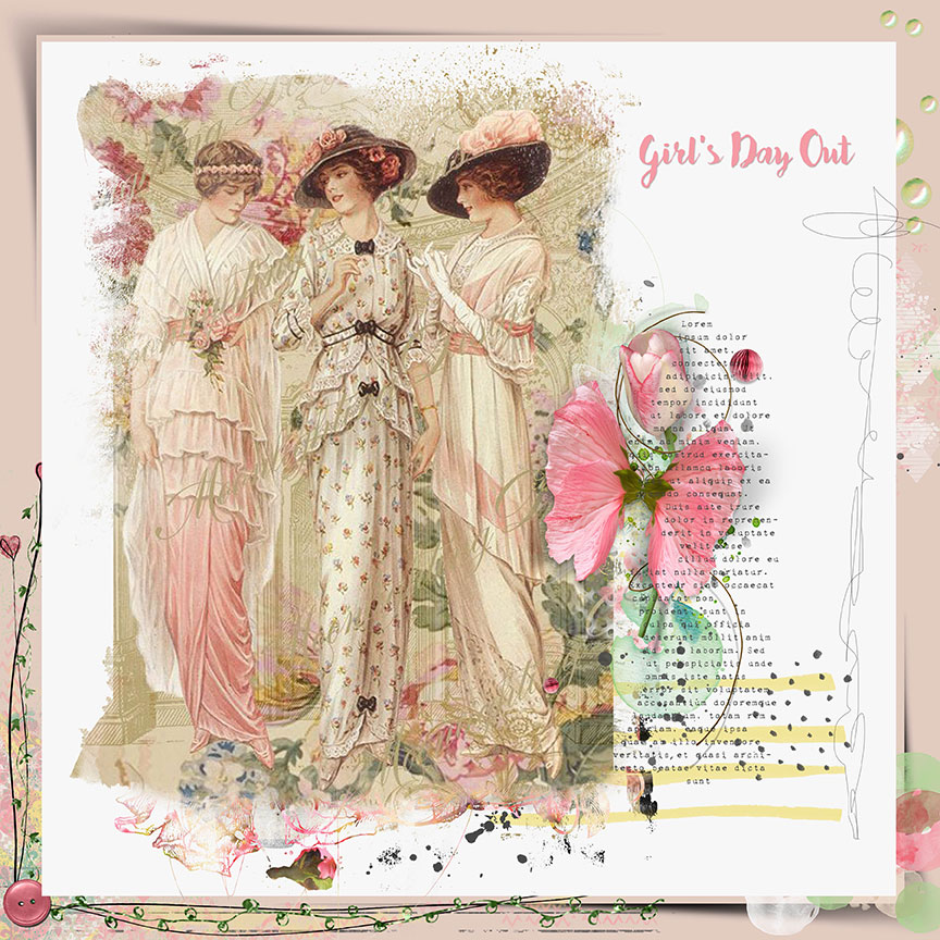 Inspiration using June Collection by Trish