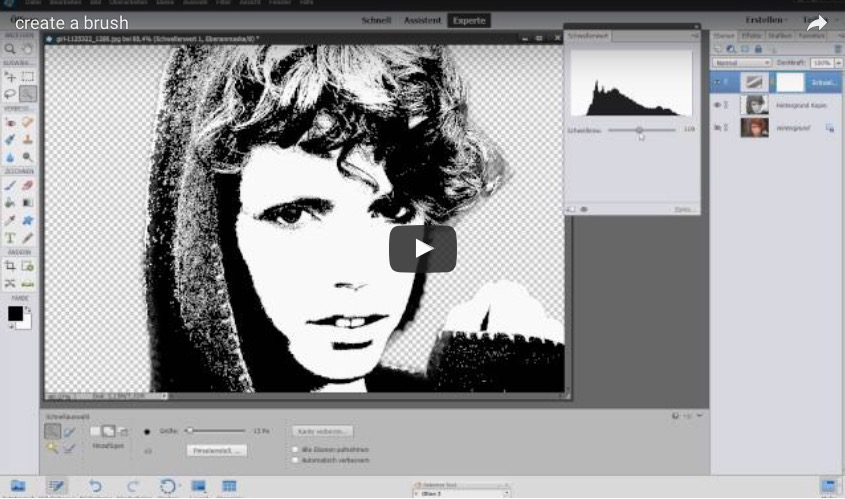 A little video tutorial – How to create a Brush