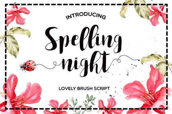 Free Font – Lovely Brush Script