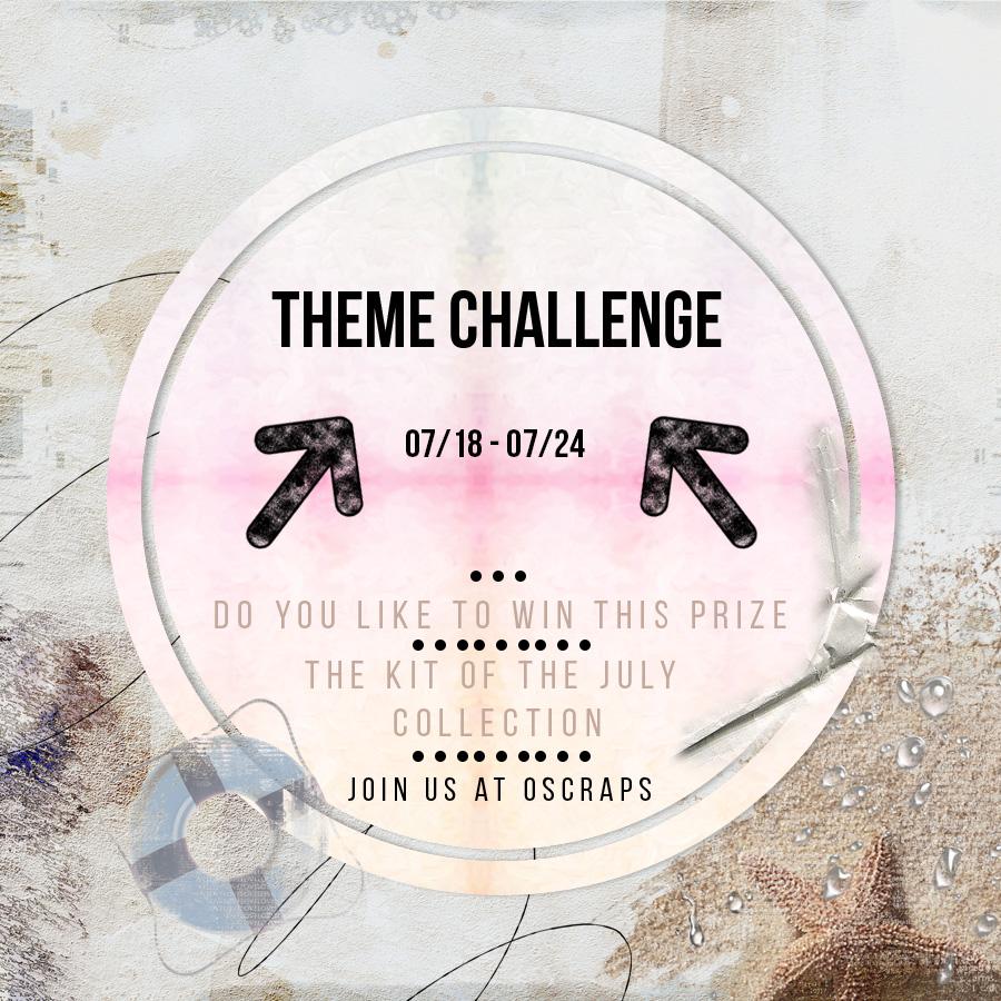 New weekly NBK Design Challenge at oscraps