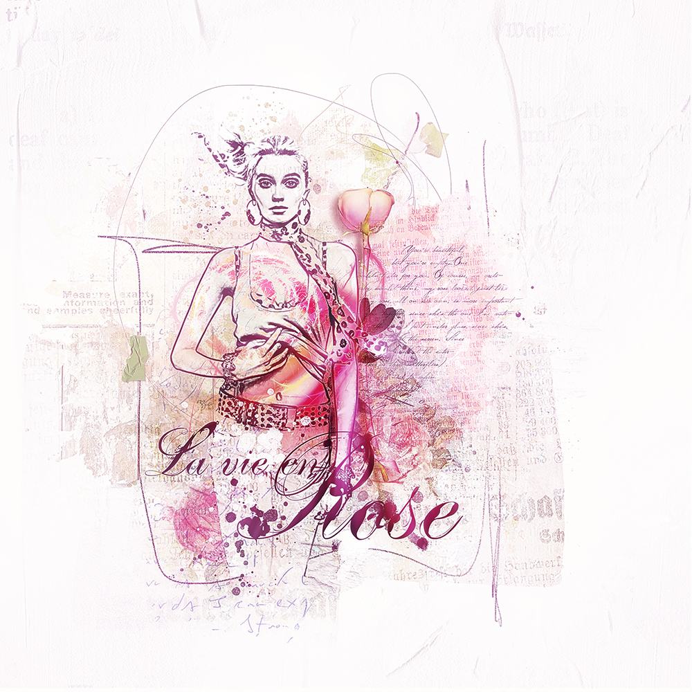 Rose Bohème inspiration