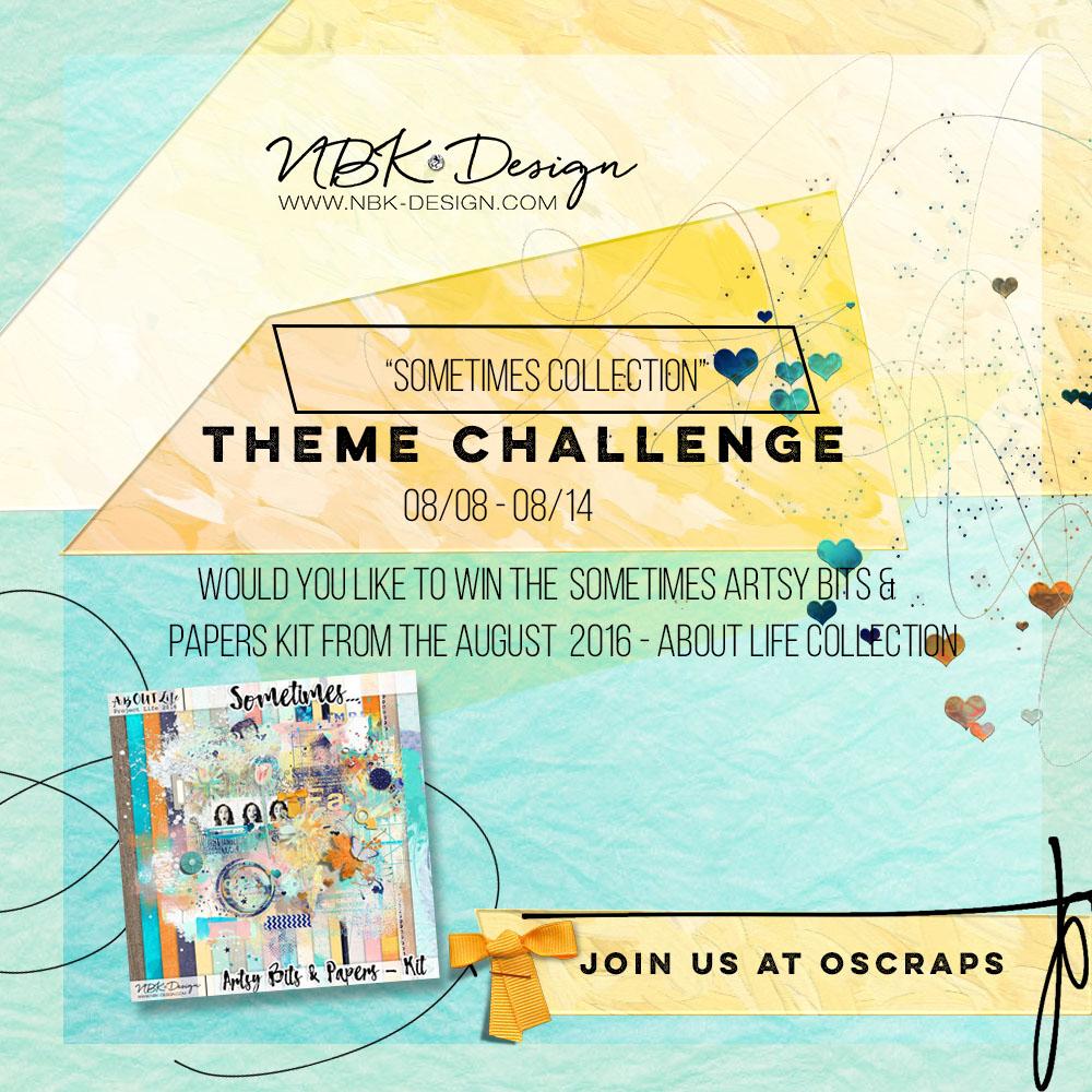 Theme Challenge at Oscraps