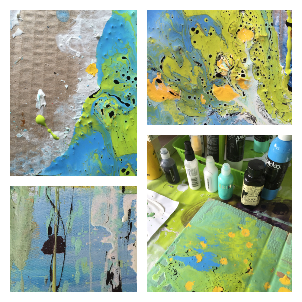 Painting overdose…