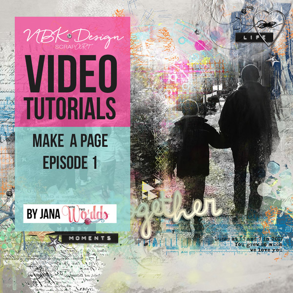 Make a Page Episode 1 Video Tutorial