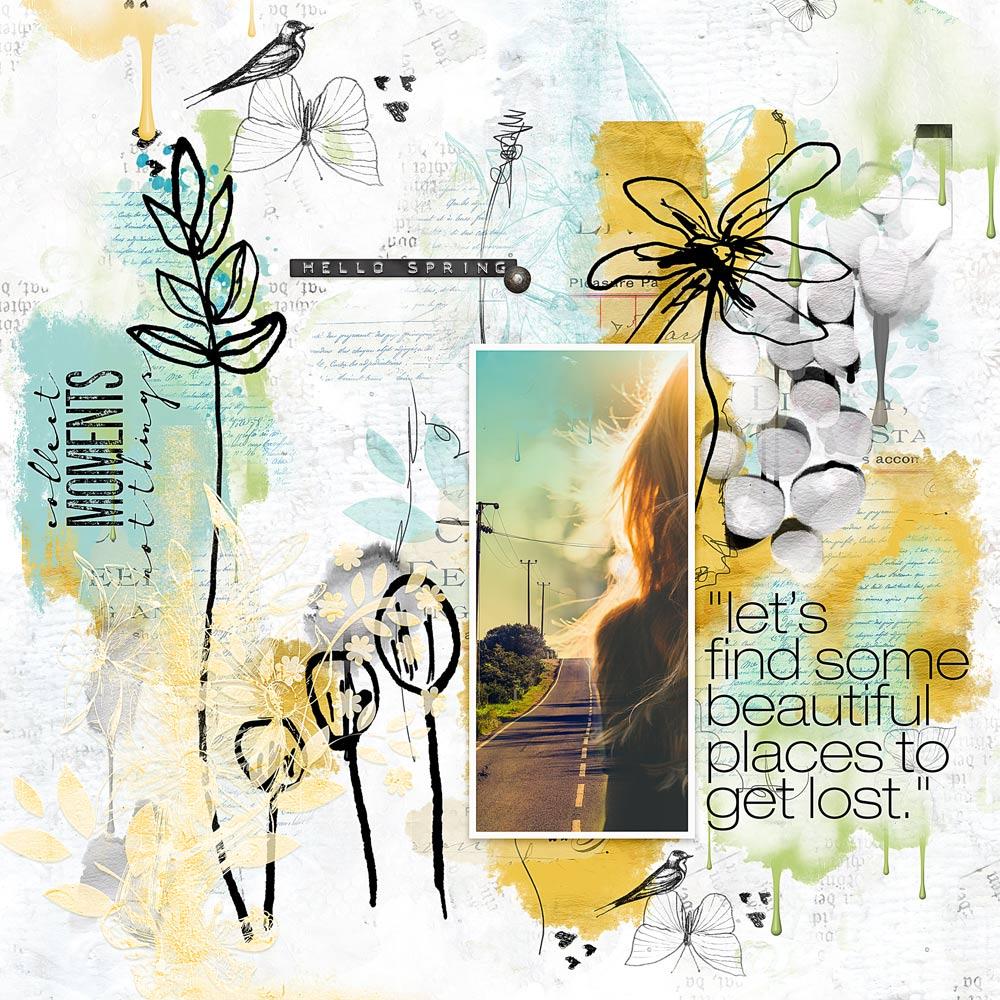 Art & Nature Collection – Layout inspiration by Ona (aka wombat146)