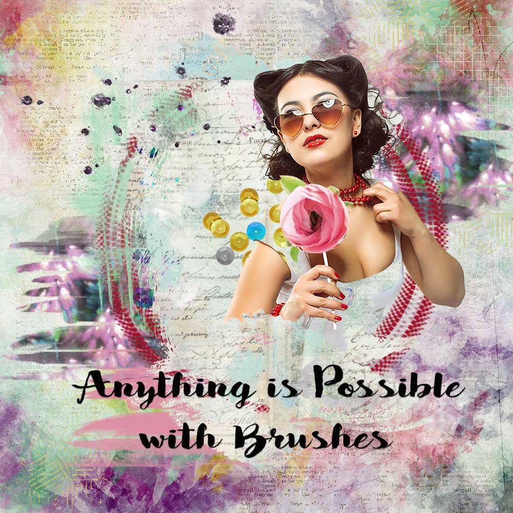 Brushmania Inspiration from Trish