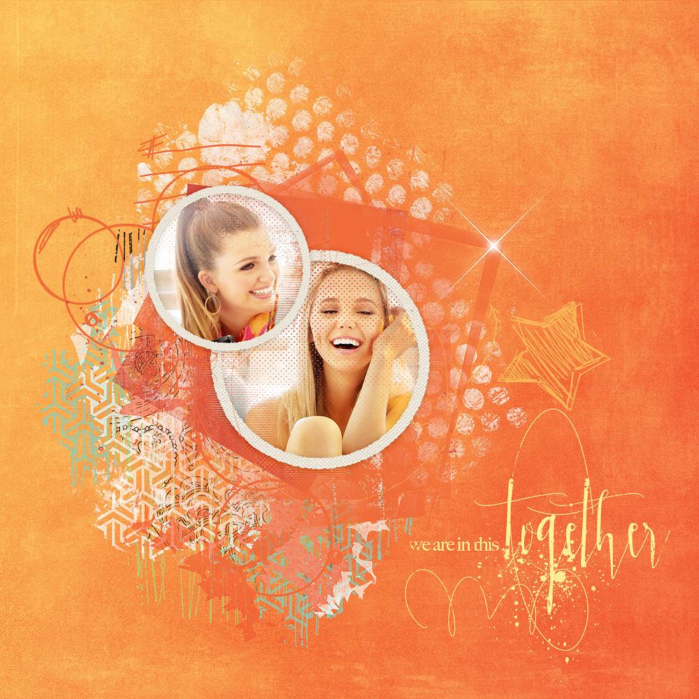 Layout Inspiration – Spotlight Sale