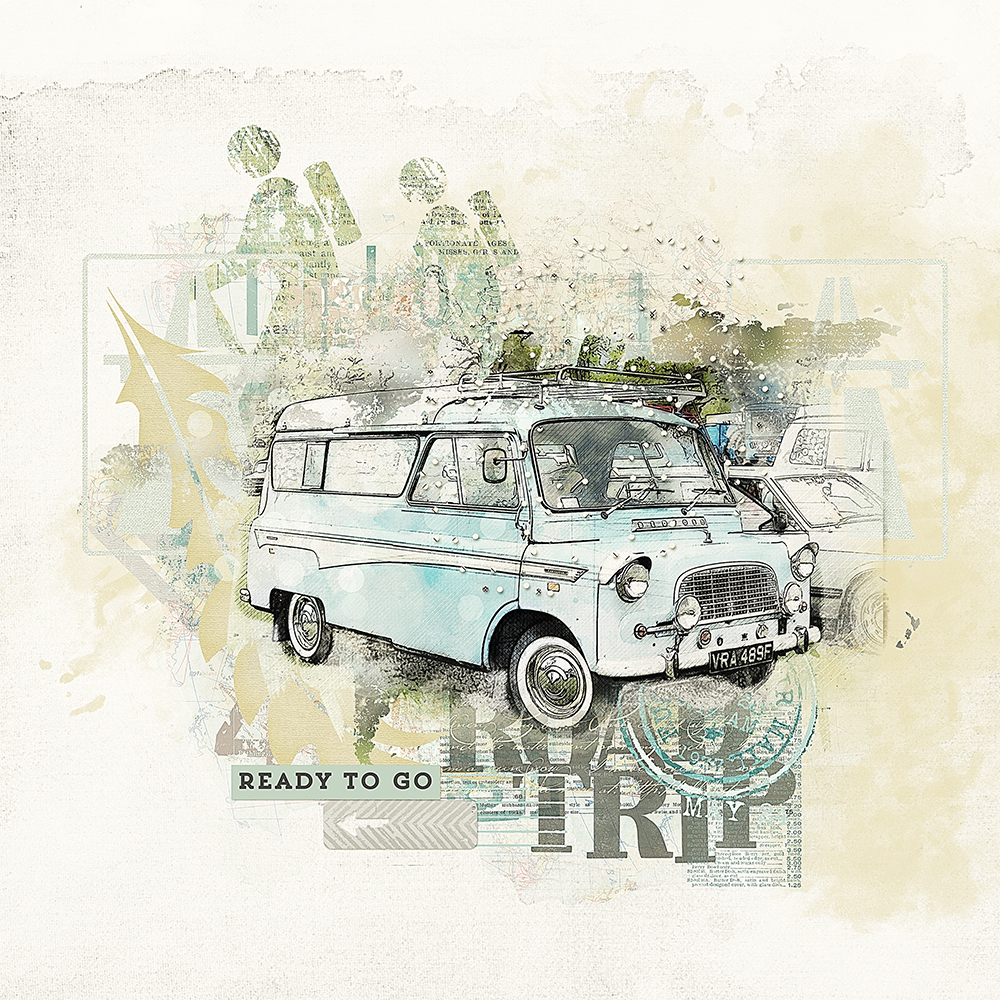 Road trip Collection – inspiration by Marianne