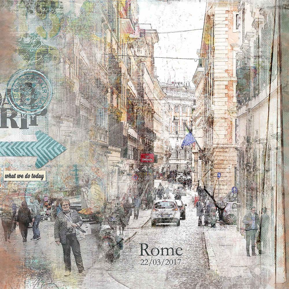 Road Trip : A day in Rome