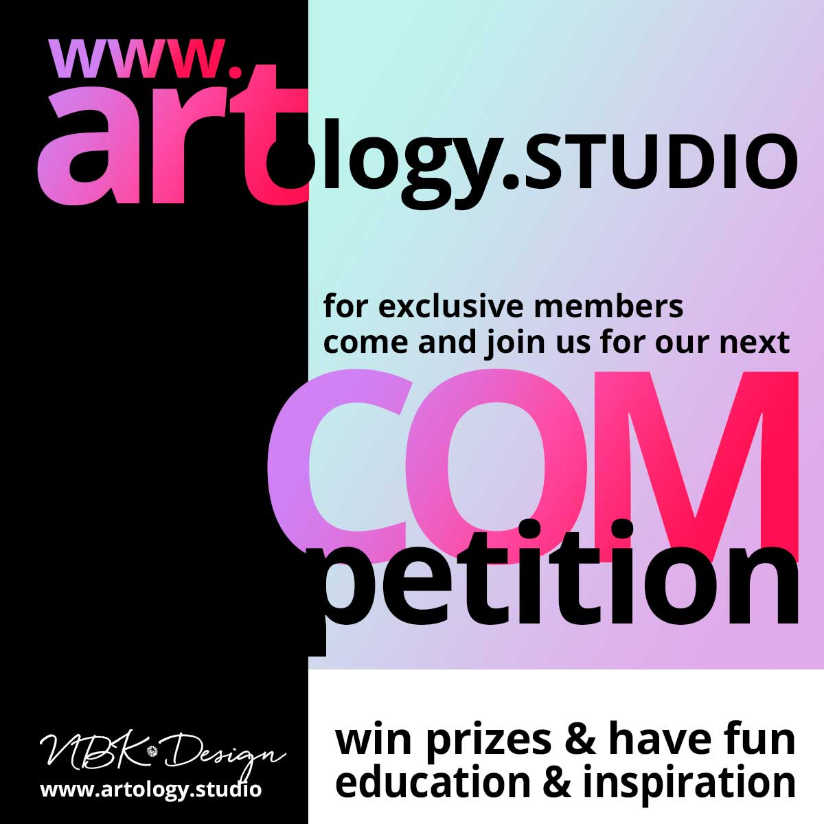 Competition @ the artology.studio – win a 5 $ Coupon to the NBK Design store