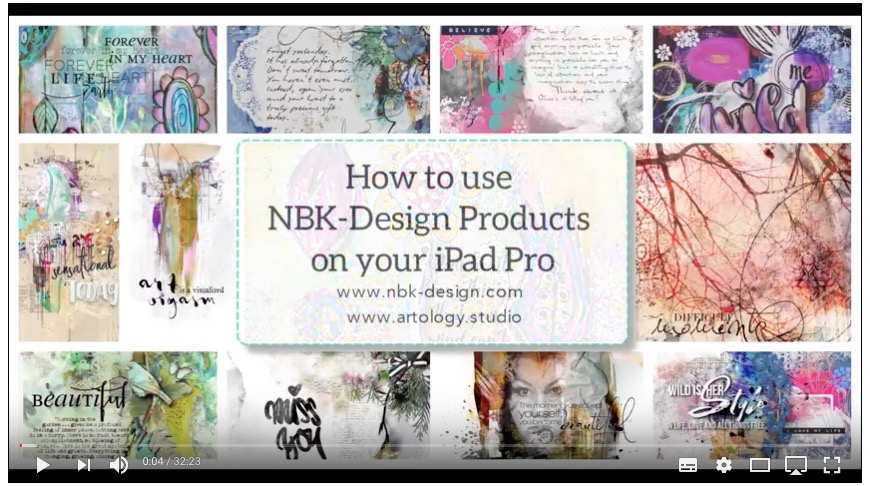 How to use NBK-Design Products on an iPad Pro