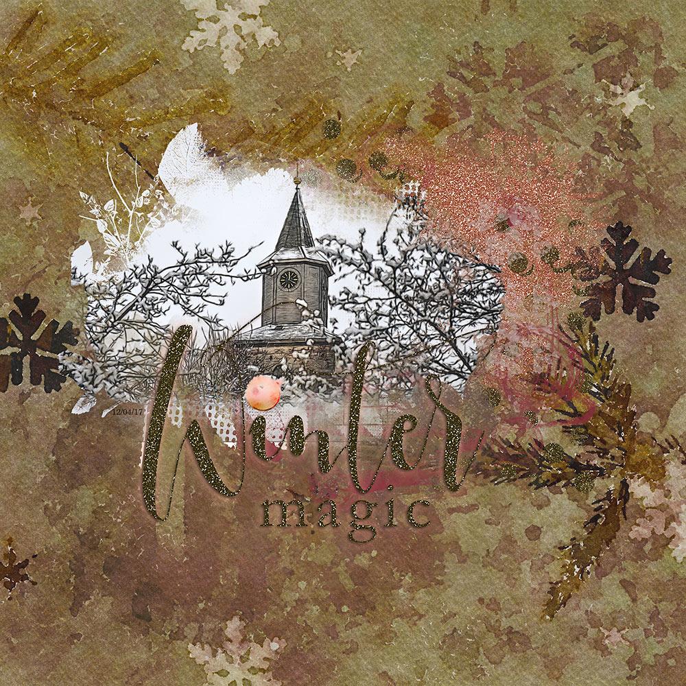 Winter Magic – Inspiration by Flor (aka twinsmomflor)