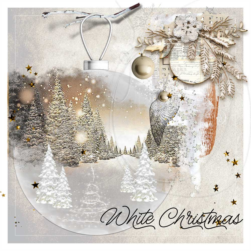 White Christmas Inspiration by Trish