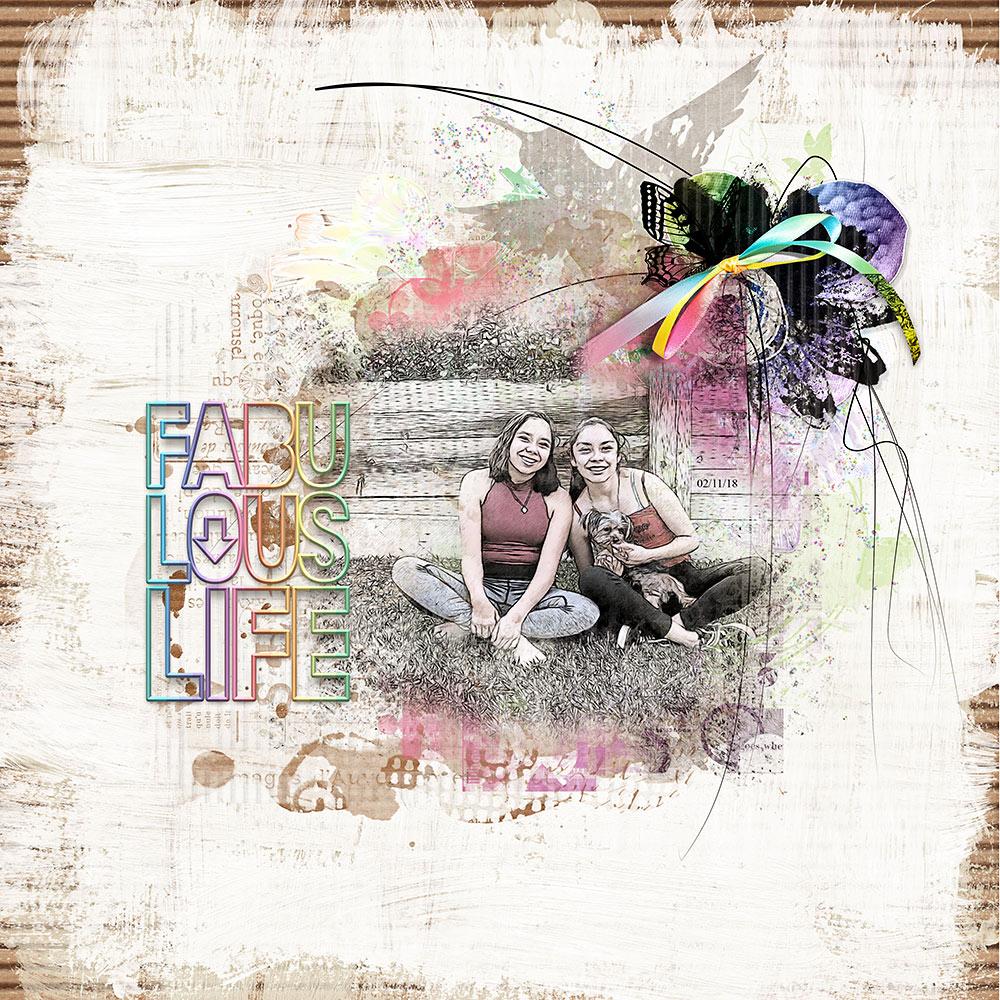 Over the Rainbow Collection – Inspiration by Flor (aka twinsmomflor)