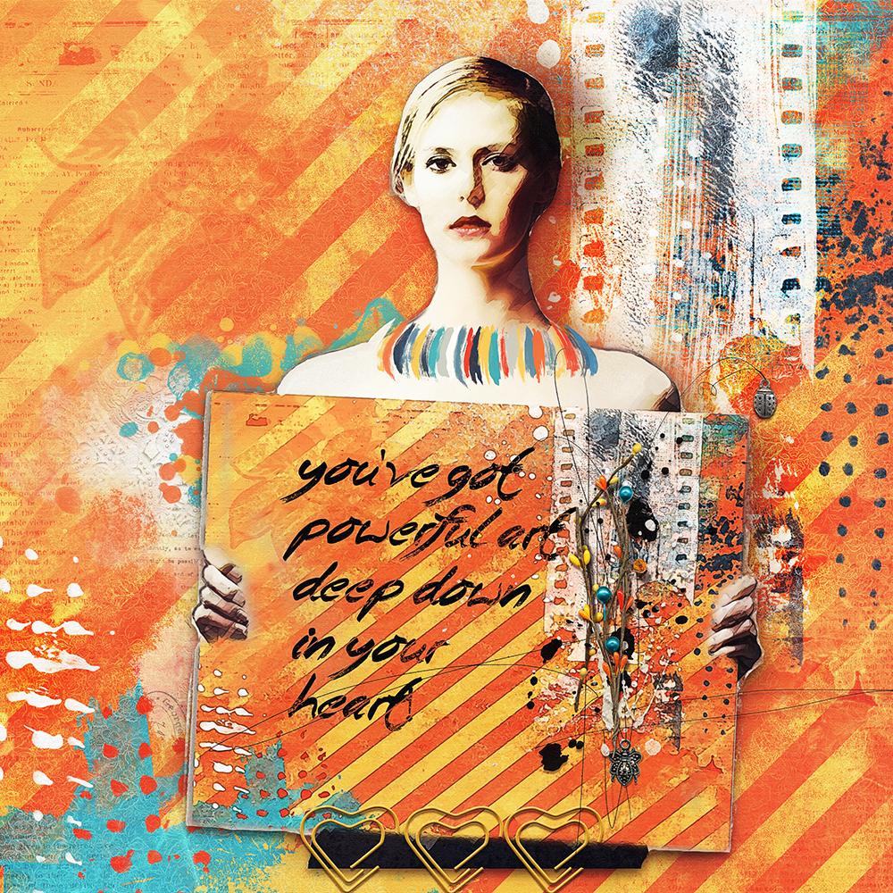 Art Crush no4 – inspiration by Marianne