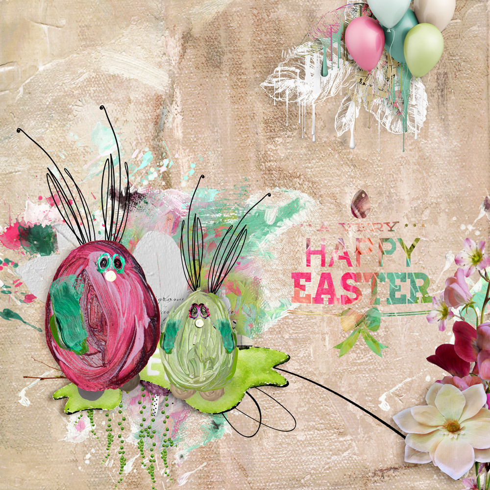 Spring Flings & Easter Things Inspiration with Anne/aka Oldenmeade
