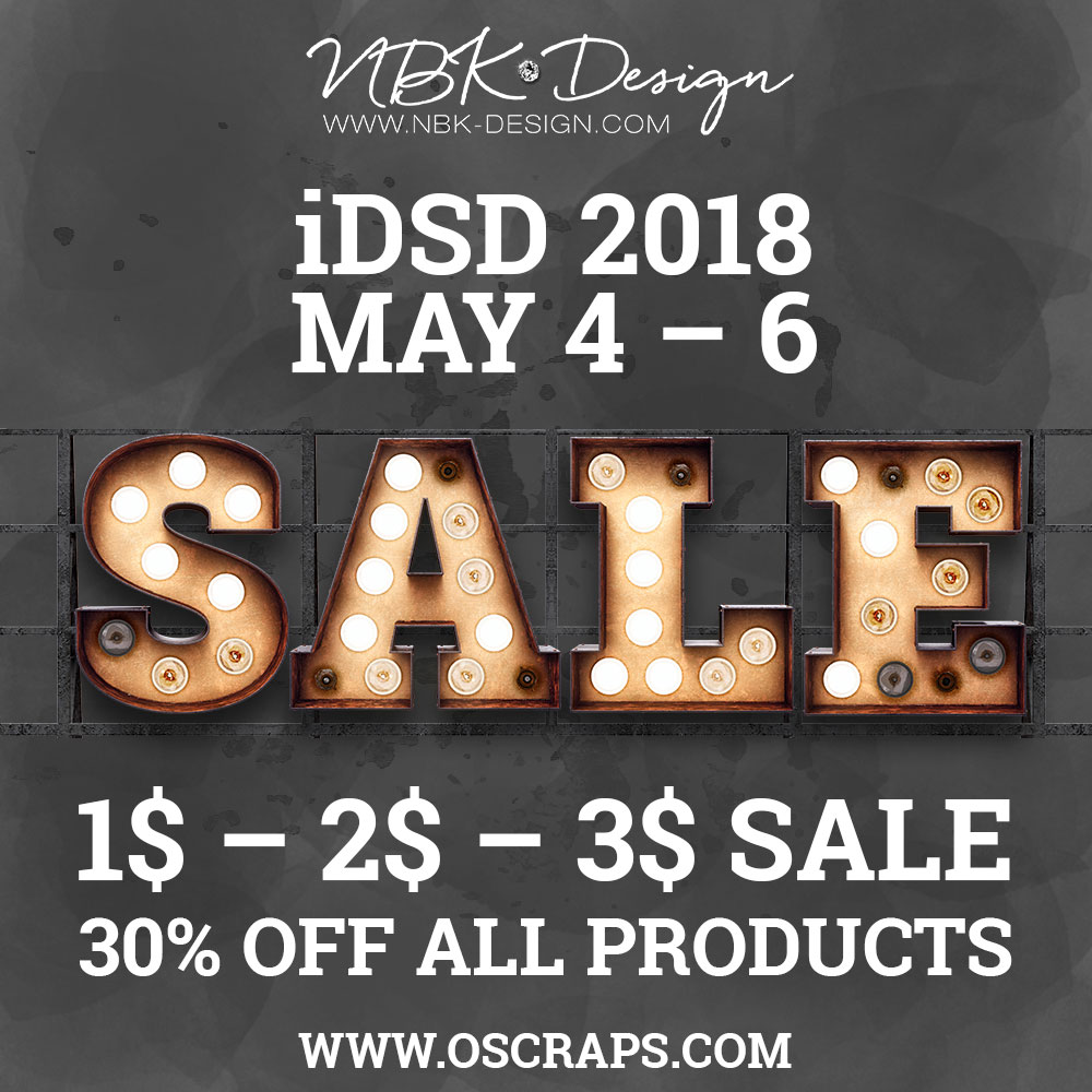 iDSD Sale 2018 – May 4.-6.