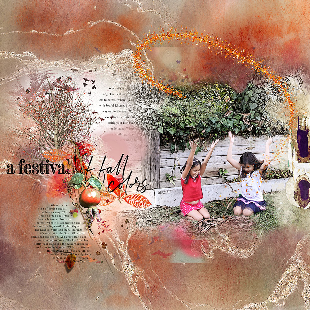 Indian Summer Collection  – Inspiration by Flor (aka twinsmomflor)