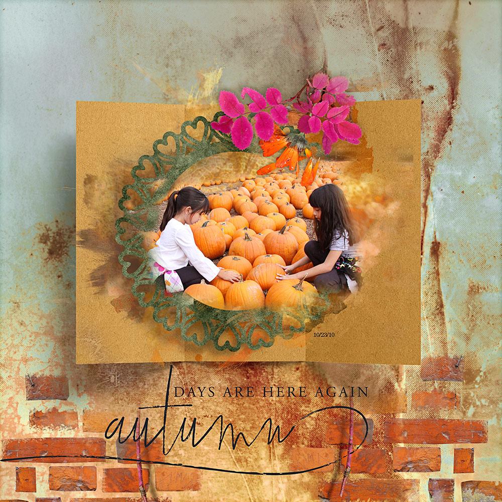 ArtCrush No8 Collection  – Inspiration by Flor (aka twinsmomflor)