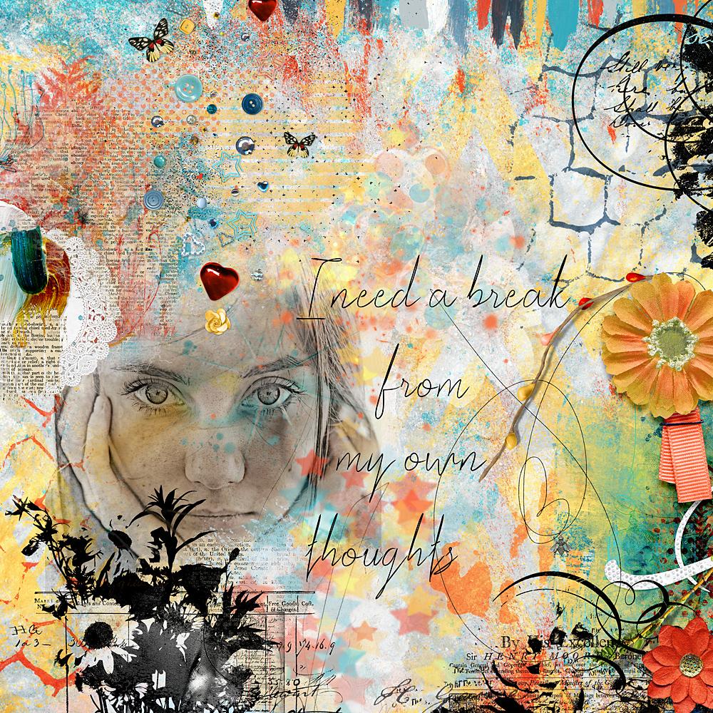Layout inspiration by Cindy (aka Cinderella)