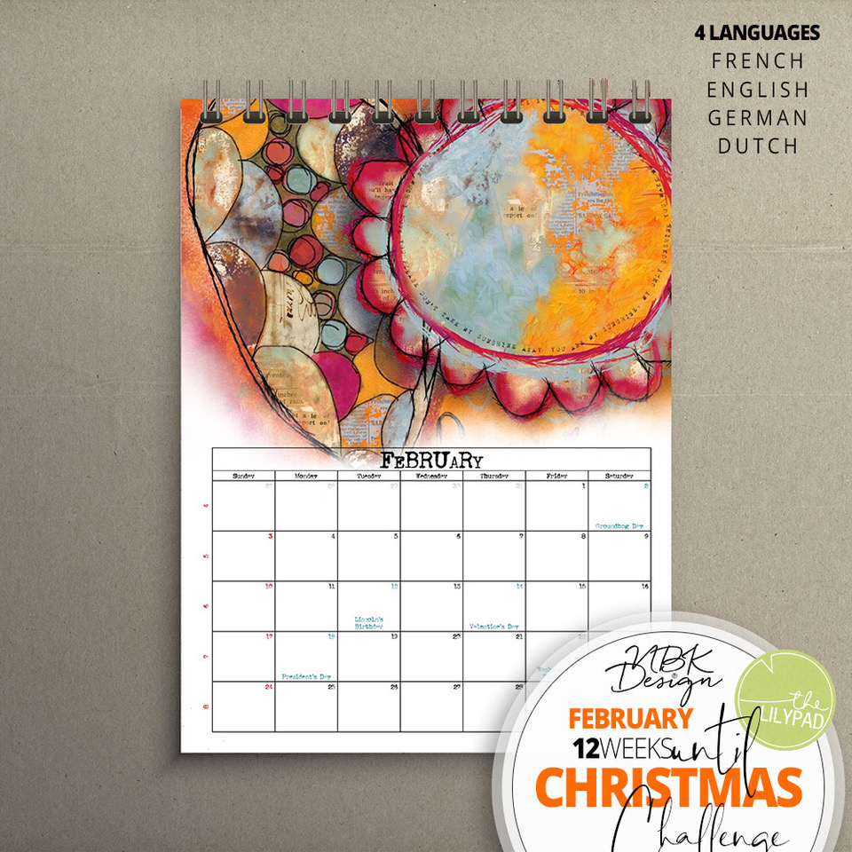NBK-Design 2019 Calendar Template Challenge – January & February