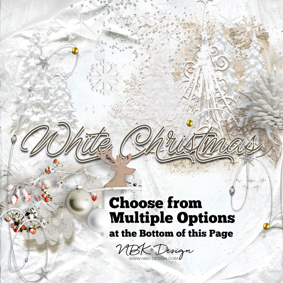 White Christmas – re-released @ my Lilypad Shop – 50% for only a couple of hours