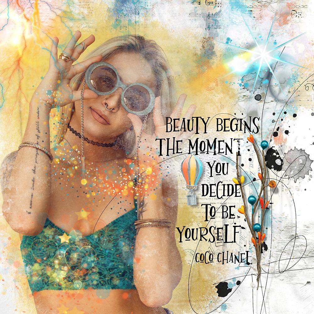 ArtCrush No 4- Inspiration by Cindy
