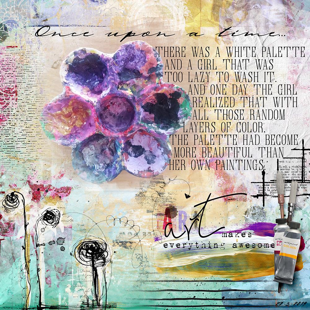 Layout inspiration by Cindy