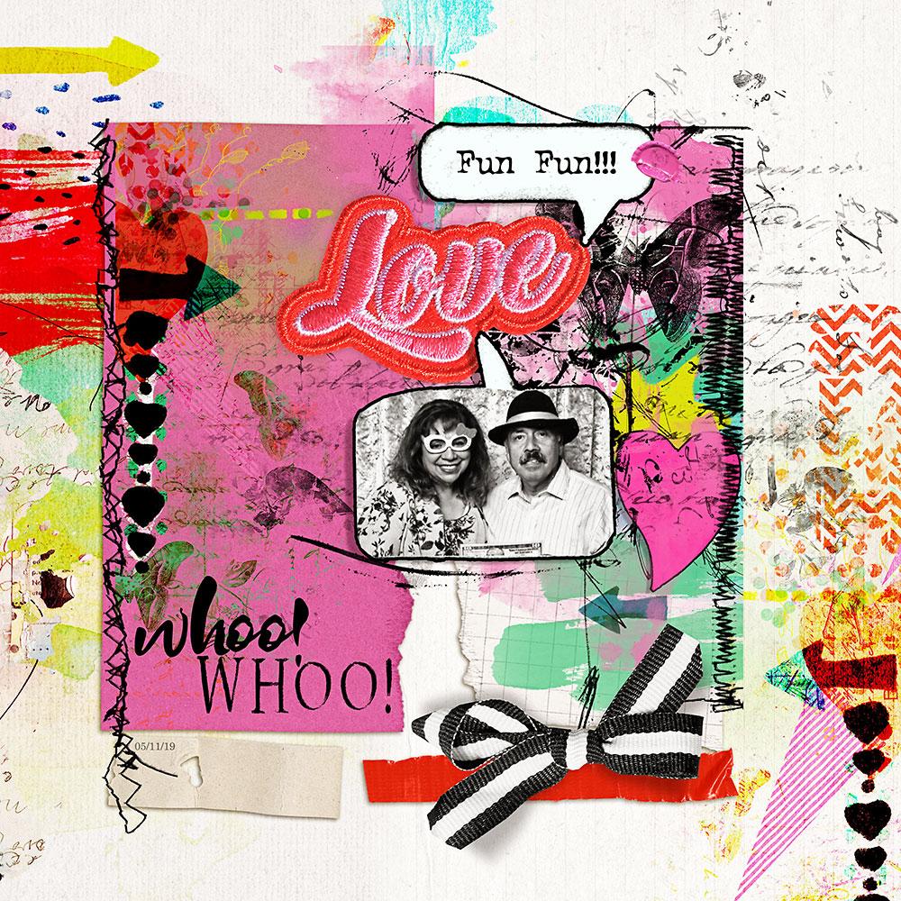 artCrush No15  Collection  – Inspiration by Flor (aka twinsmomflor)