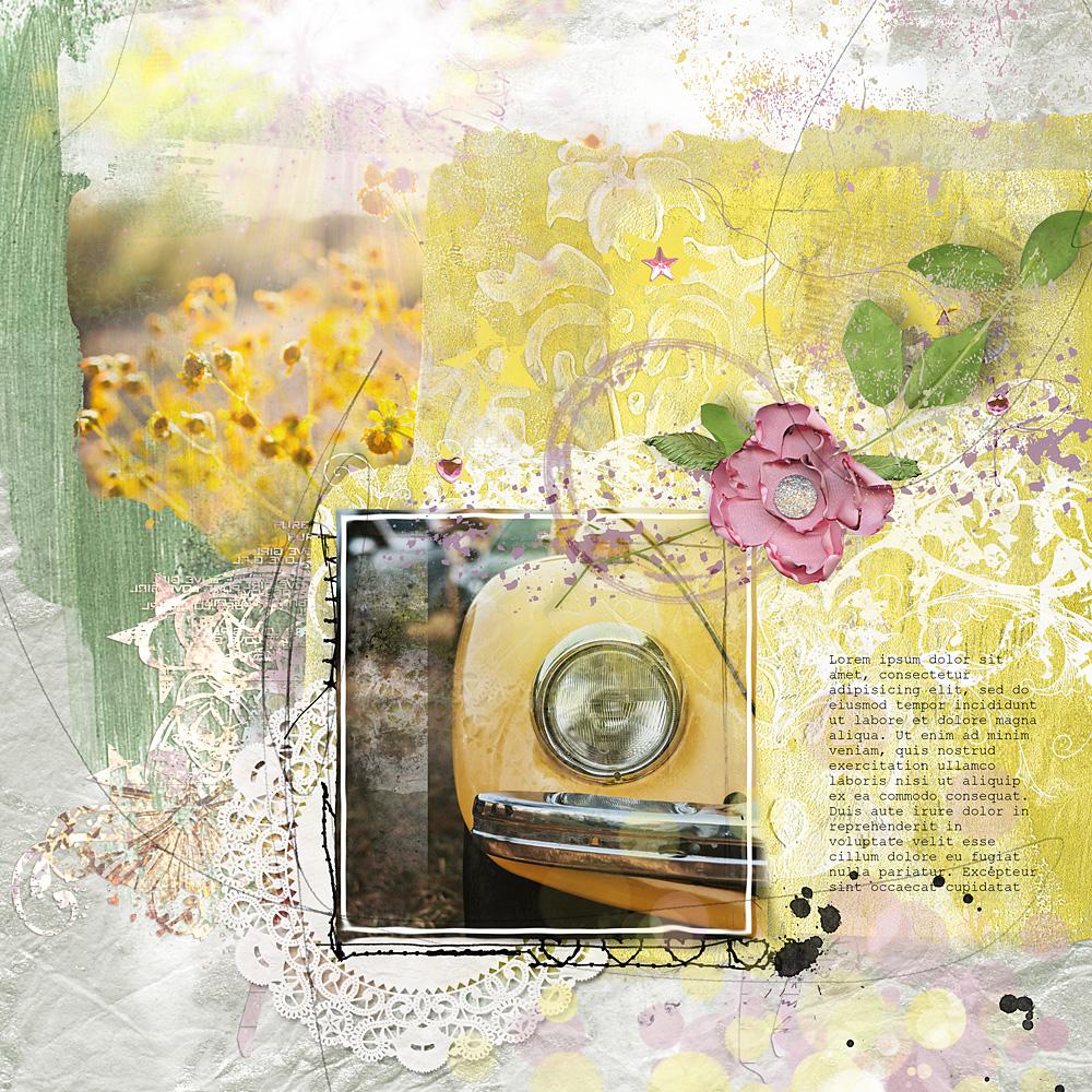 Springbreak – Page by Cindy