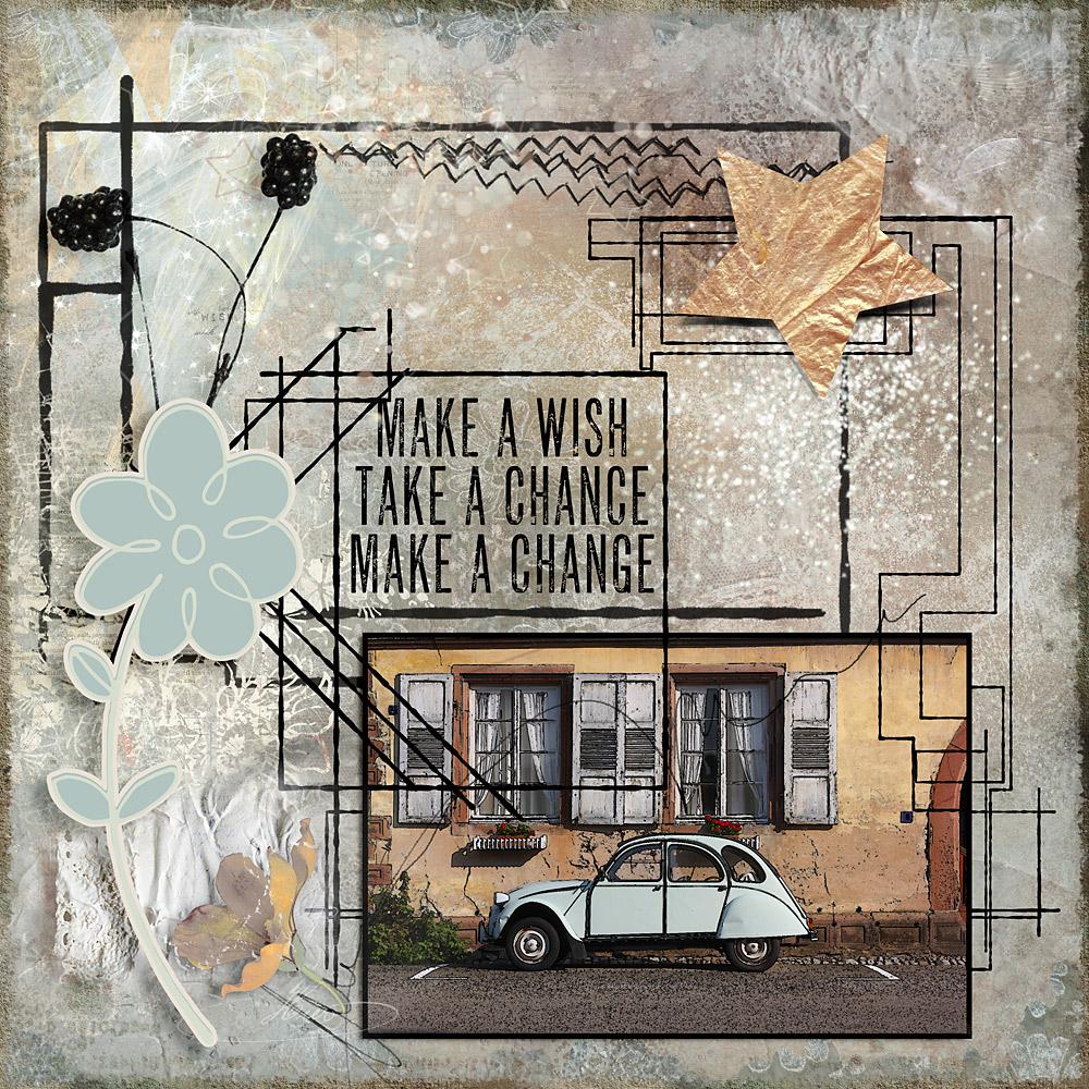 Make a wish – Inspiration by Cindy