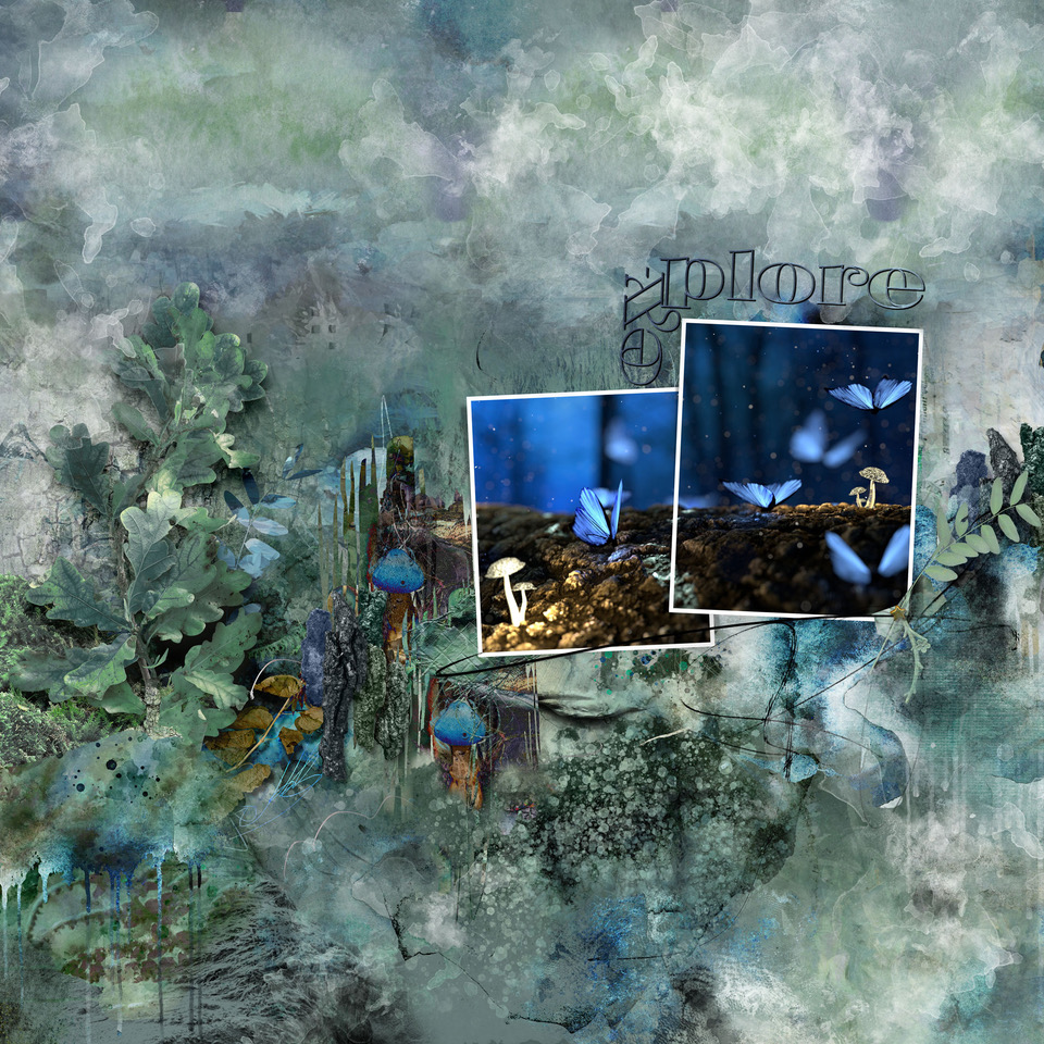 Wanderlust Collection Layout Inspiration by Danesa