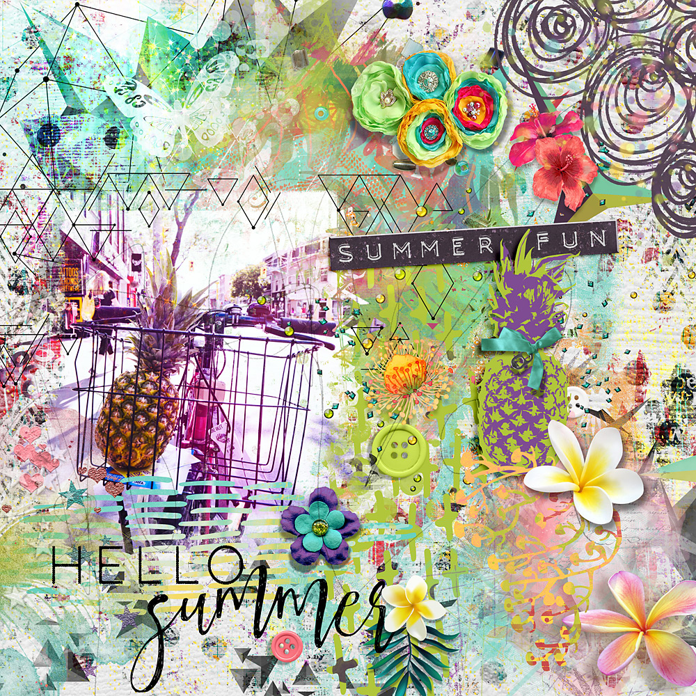 Tropical Fusion – Inspiration by Cindy