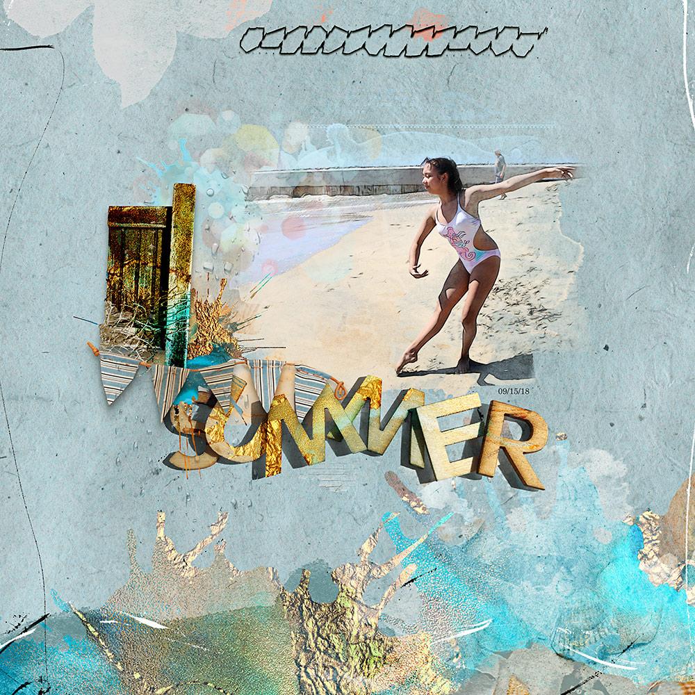 Sandy Beaches Collection  – Inspiration by Flor (aka twinsmomflor)