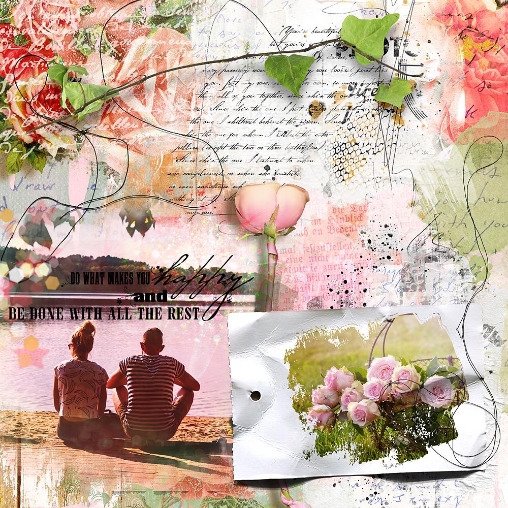 Rose Boheme – Inspiration by Cindy