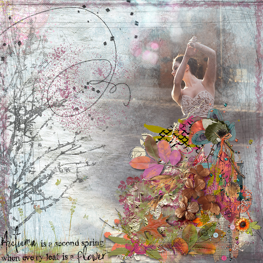 Autumn Whisper – Inspiration by Cindy