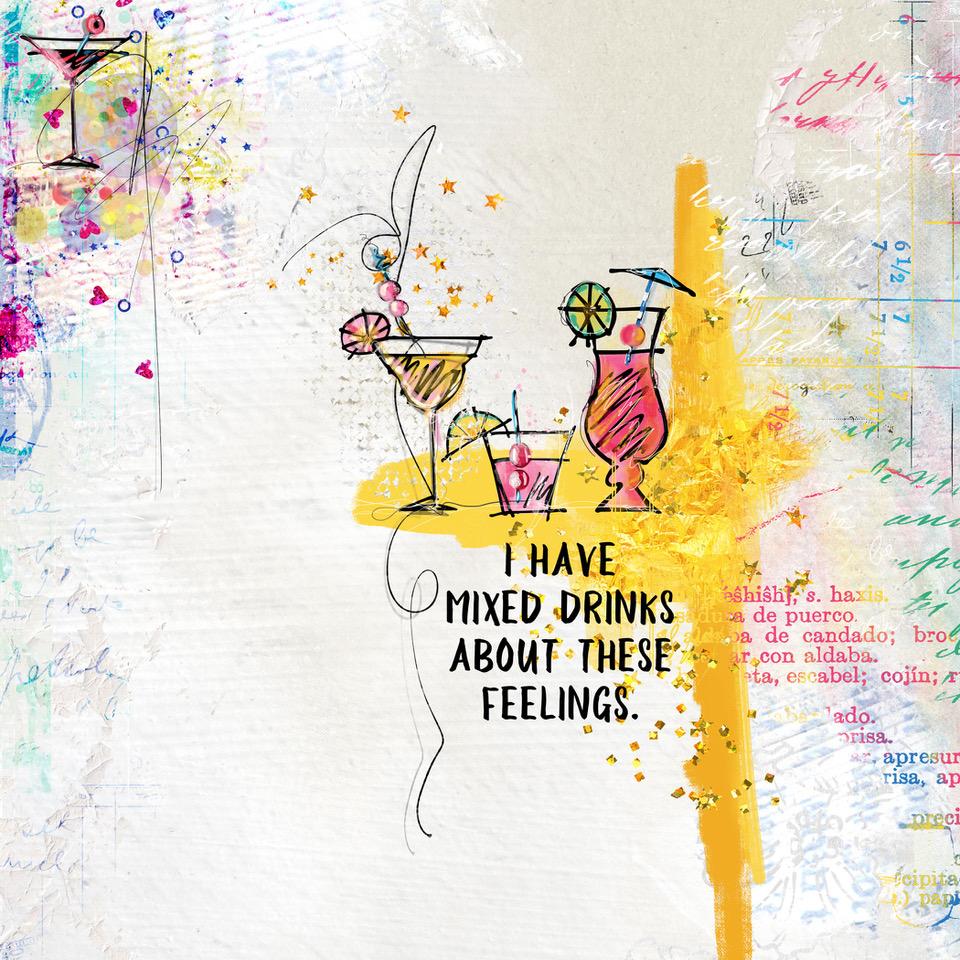 Layout Inspiration, by Danesa, using ArtCrush No 17