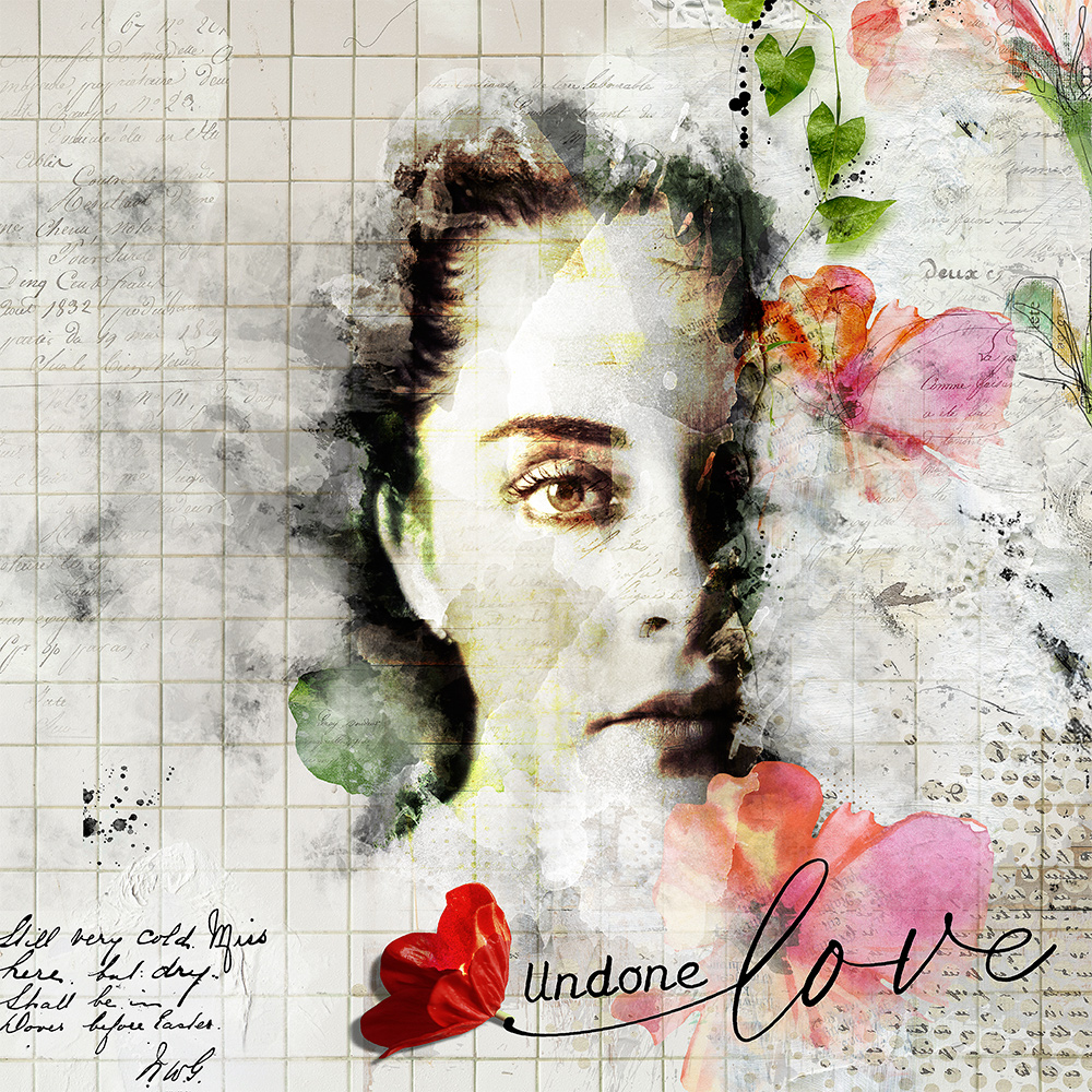 Layout Inspiration by CLIN D'OEIL with Undone Collection