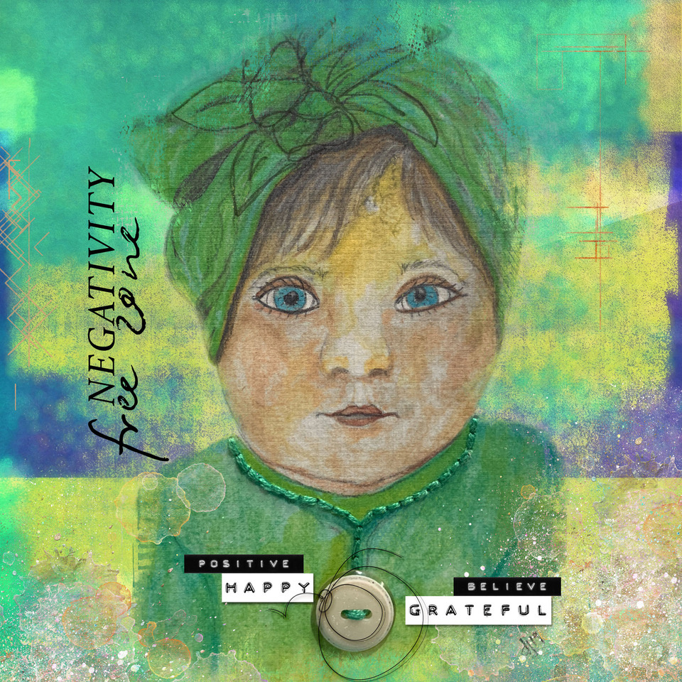 On the Bright Side – layout inspiration by Danesa