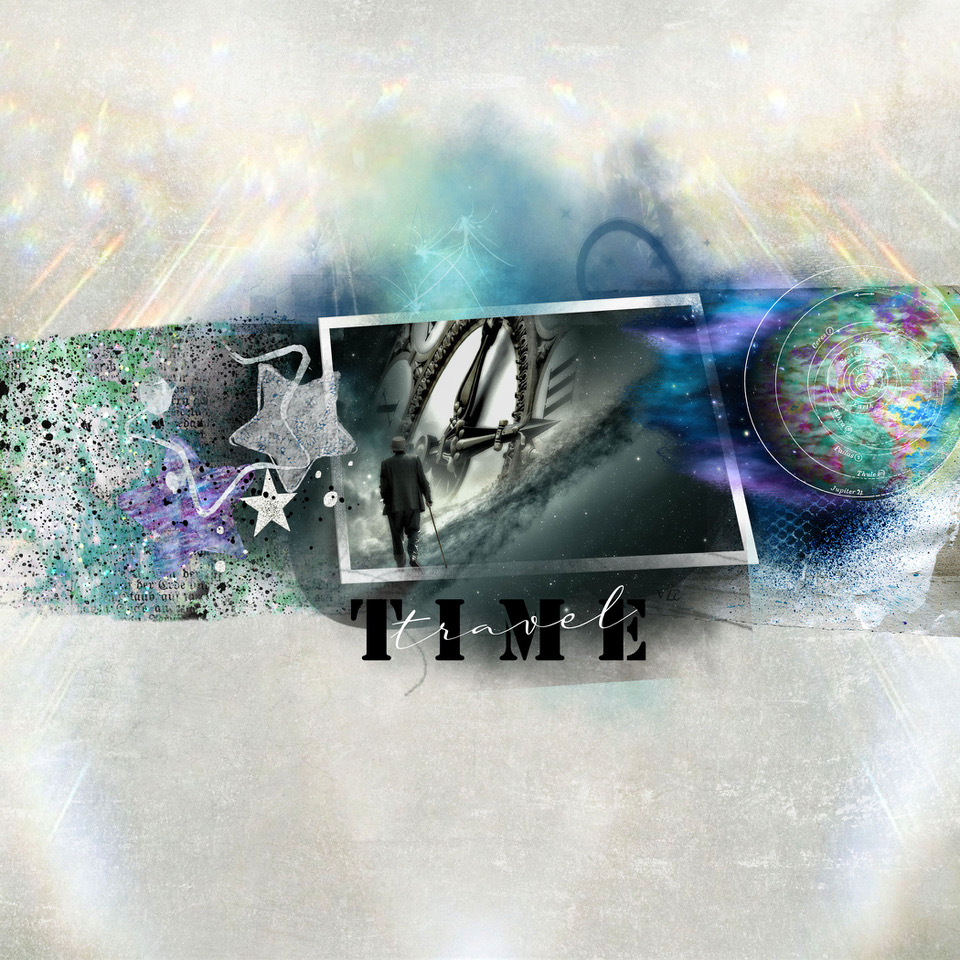 Space Night – layout inspiration by Danesa