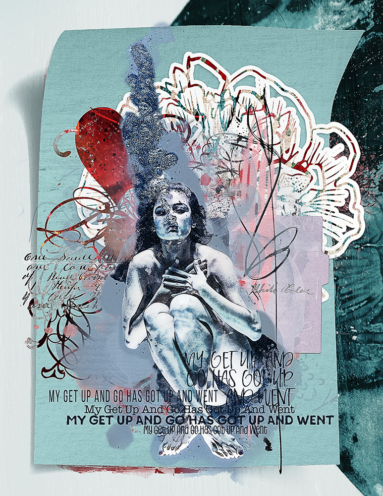 Layout inspiration for artCrush 19 by Marianne